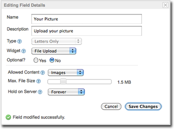 File Upload: Form Builder with File Attachment